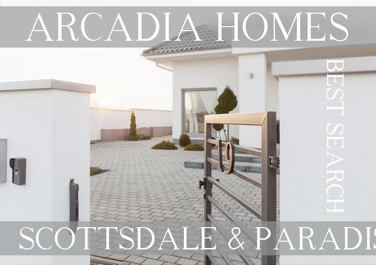 Search Arcadia Scottsdale Paradise Valley Arcadia Homes